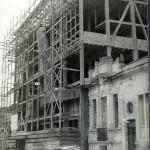 Casa do Povo under construction, early 1950s