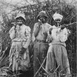 Cortadores de caña en Jamaica