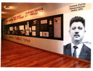 "Temporary exhibit called ""Not got epitaph, because you are flag. Rubens Paiva, missing since 1971"" open from March 26 to July 10, 2011."